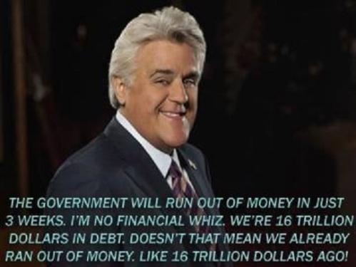 Leno on debt