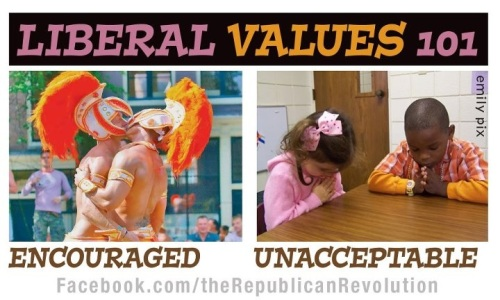 Liberal Logic - Encouraged vs Unacceptable