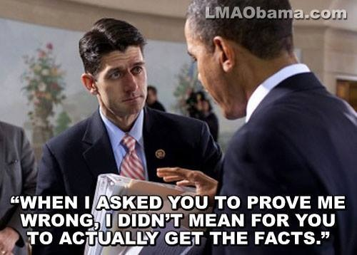 Ryan and Obama - Facts