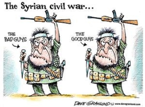 Image result for cartoons on syria