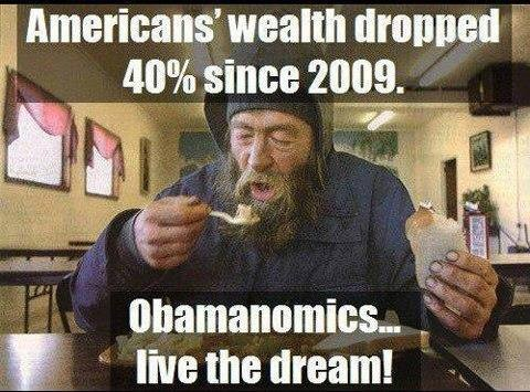 2009 to now 40 less wealth