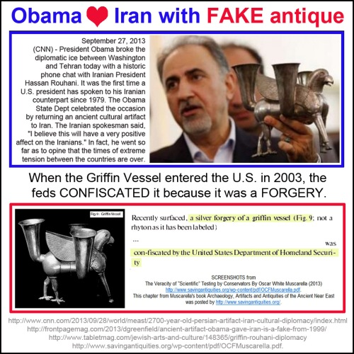 2013_09 28 Obama gives forgery to Iran as sign of good will