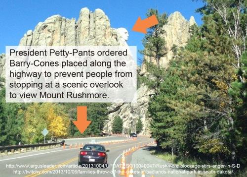 2013_10 05 Blocking scenic views at Mt Rushmore