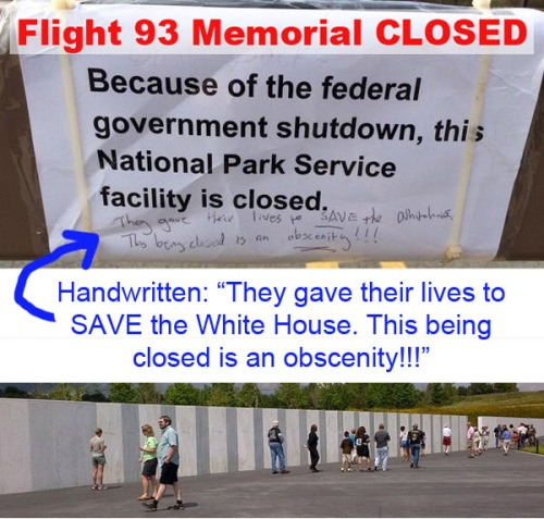 2013_10 10 Flight 93 closed