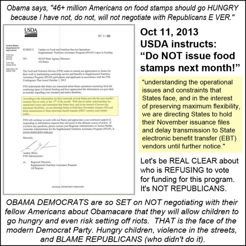 2013_10 11 USDA cut off food stamps in NOV