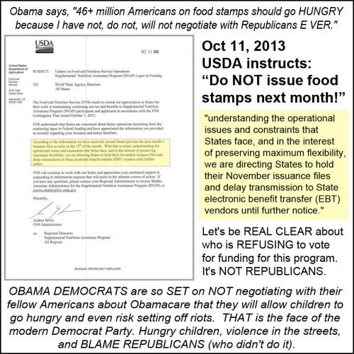 2013_10 11 USDA cut off food stamps in NOV