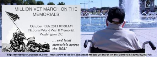 2013_10 13 Million Vet March on Memorials