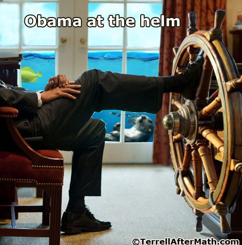 2013_10 30 Obama at the Helm by Terrell