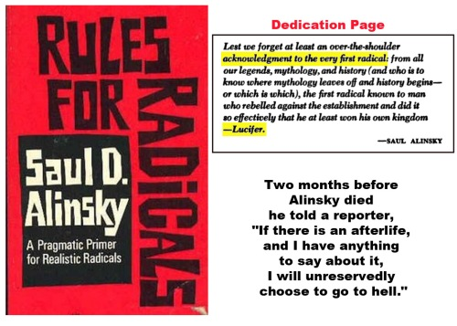 Alinsky's Rules for Radicals