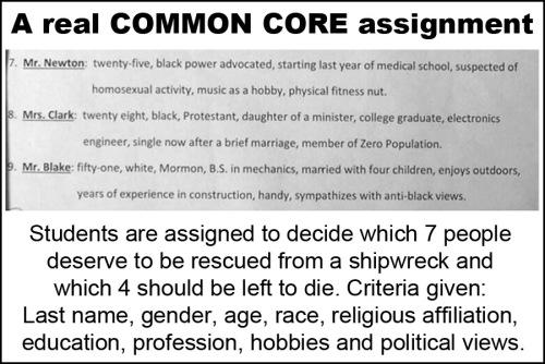 Common Core Who should survive