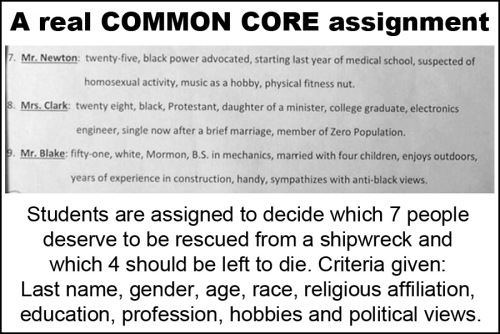 Common Core Who should survive