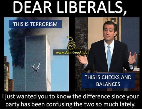 Dear Liberal - Terrorism vs Checks and Balances