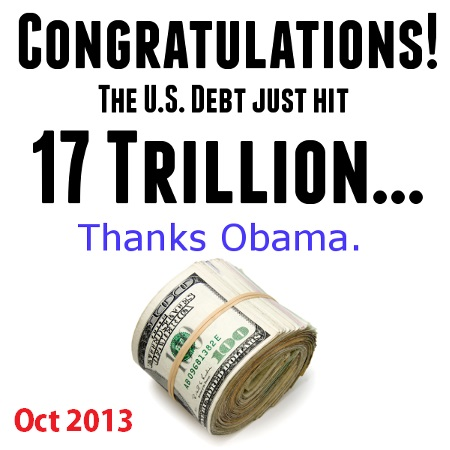 DEBT 2013_10 Debt hits 17 Trillion