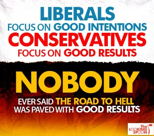 Good intentions vs Good results