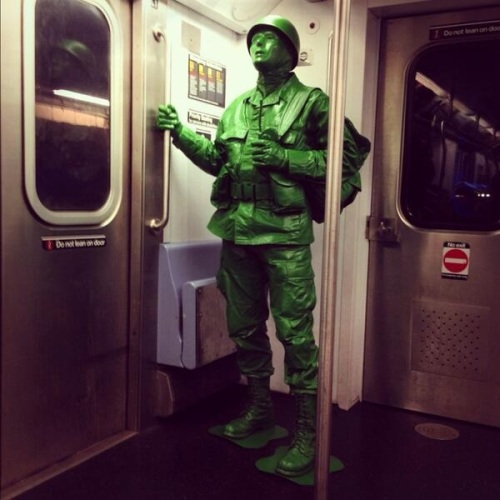 Halloween People Plastic Army guy