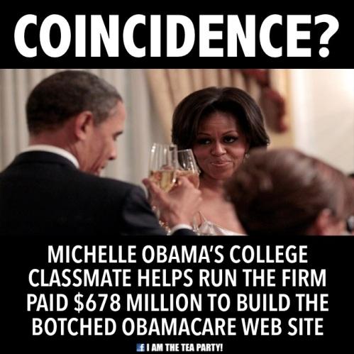 Michelle's bud got no bid contract