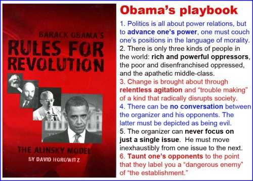 Obama's Alinsky Playbook