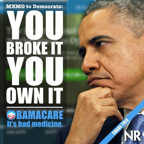 Ocare You broke it You own it