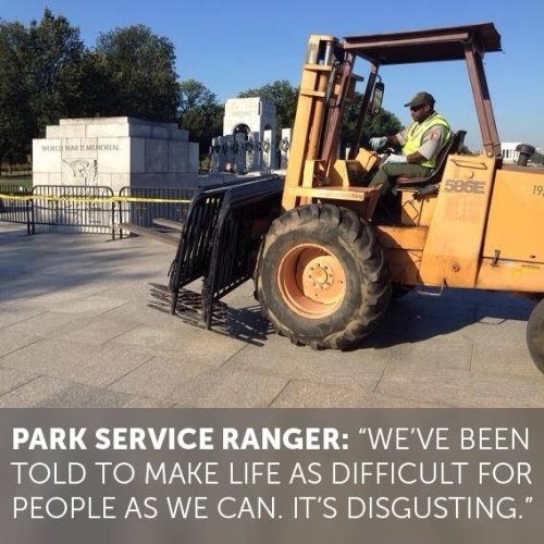 Park Service Ranger - disgusting