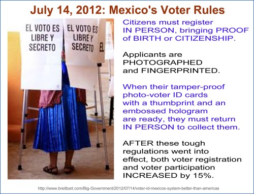 PHOTO ID 2012_07 14 Voter ID isn't racism