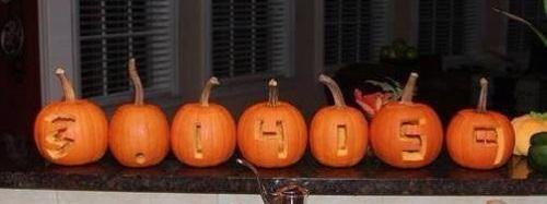 Pumpkin Pi humor