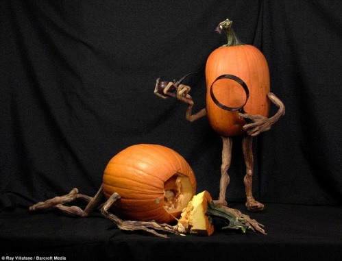 Pumpkin Sherlock