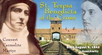 St Teresa Benedicta