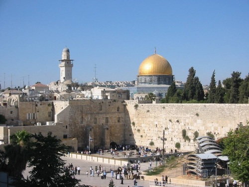 Temple Mount and Wailing Wall