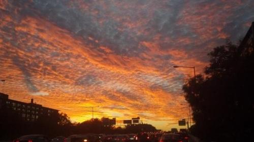 2013_11 06 Sunset in DC by David Freddoso
