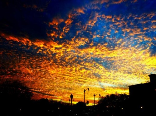 2013_11 06 Sunset in DC by Ryan Clarke