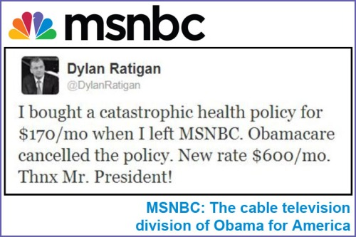 2013_11 08 Former MSNBC guy gets policy canceled