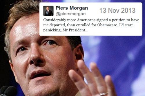 2013_11 13 Piers Morgan tweet