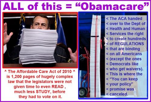 All of this is Obamacare