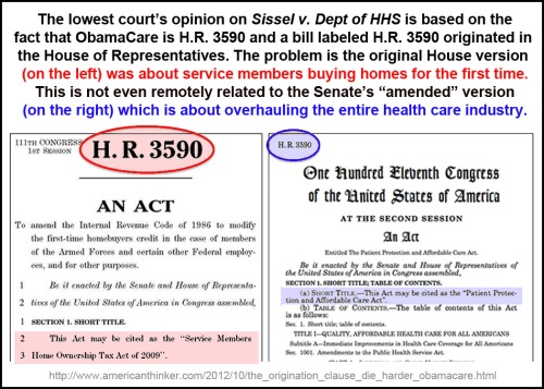 HR 3590 amendation was a sham