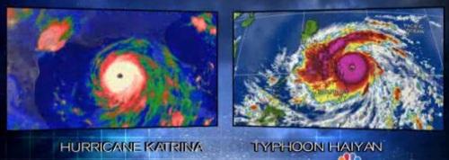 Katrina vs Haiyan