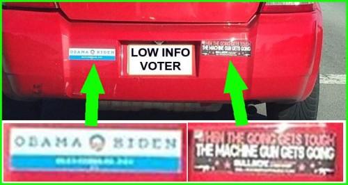 LIBTARD bumper stickers