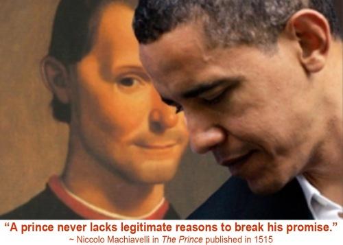 Machiavelli and Obama