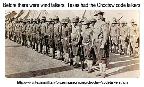 Texas Choctaw Code Talkers
