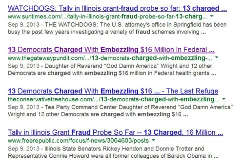 Top hits for 13 charged embezzle google