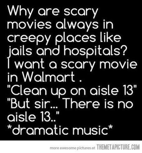 WalMart horror movie idea