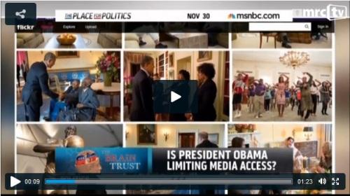 2013_11 30 MSNBC Is President limiting media
