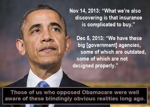 2013_12 13 Obama the Oblivious