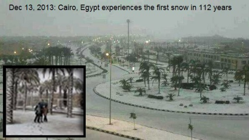 2013_12 13 Snow in Cairo