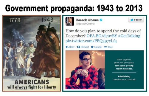 Government propaganda 1943 - 2013
