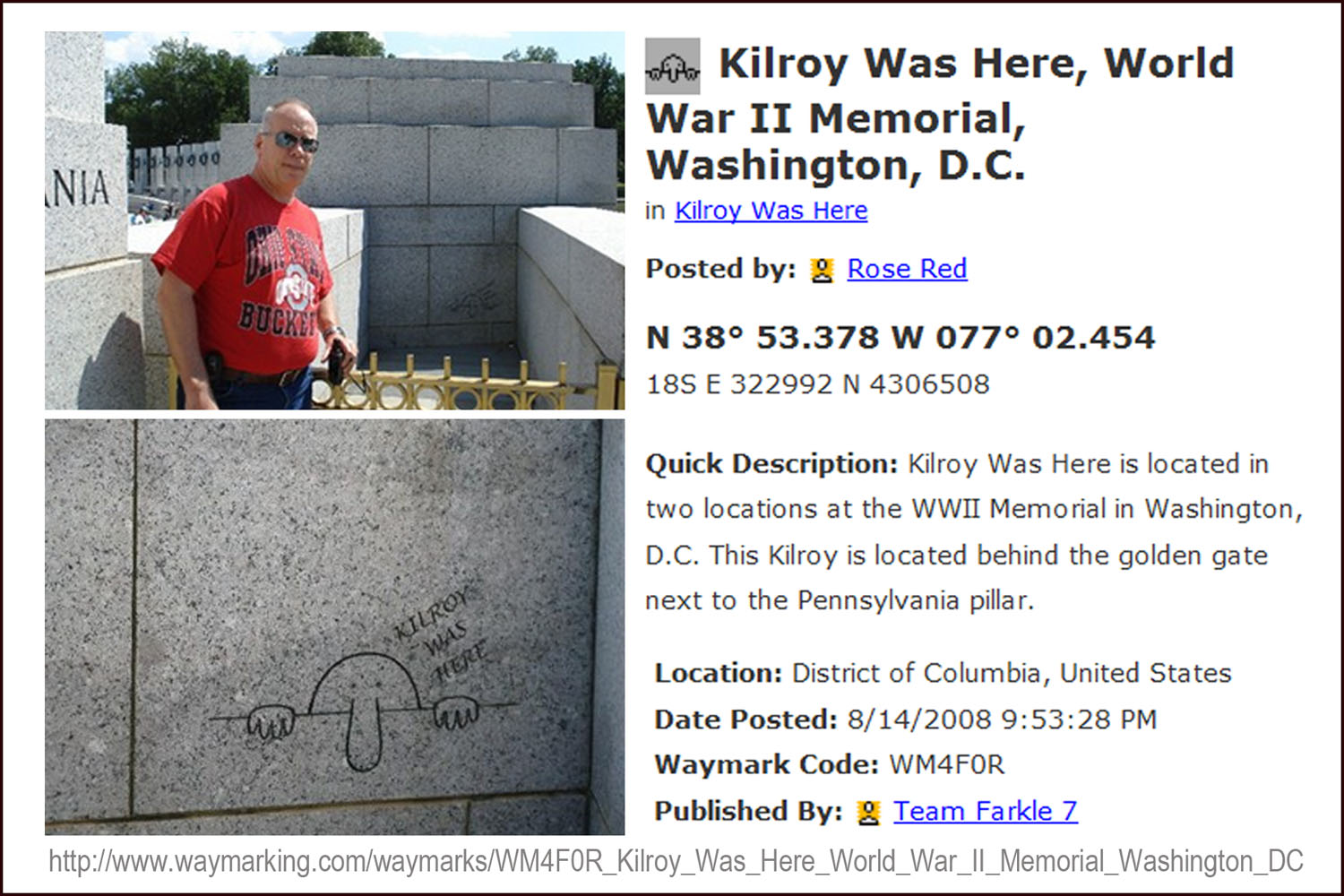 Kilroy was here! |