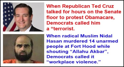 Liberalism 101 Terrorism vs Workplace Violence