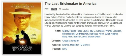 MOVIE Last Brickmaker in America