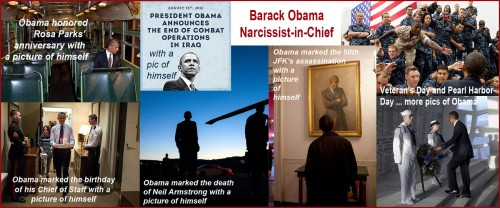 Narcissist in Chief - It's all about him