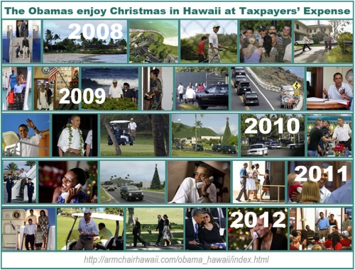 Obama Christmasses