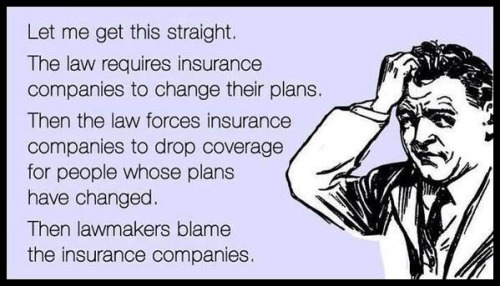 OBAMACARE You can't keep your plan